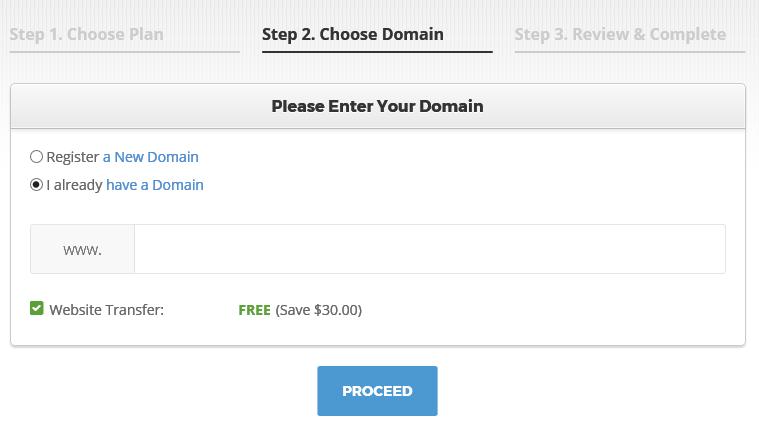 Setup Domain