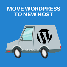 Migrate wordpress site