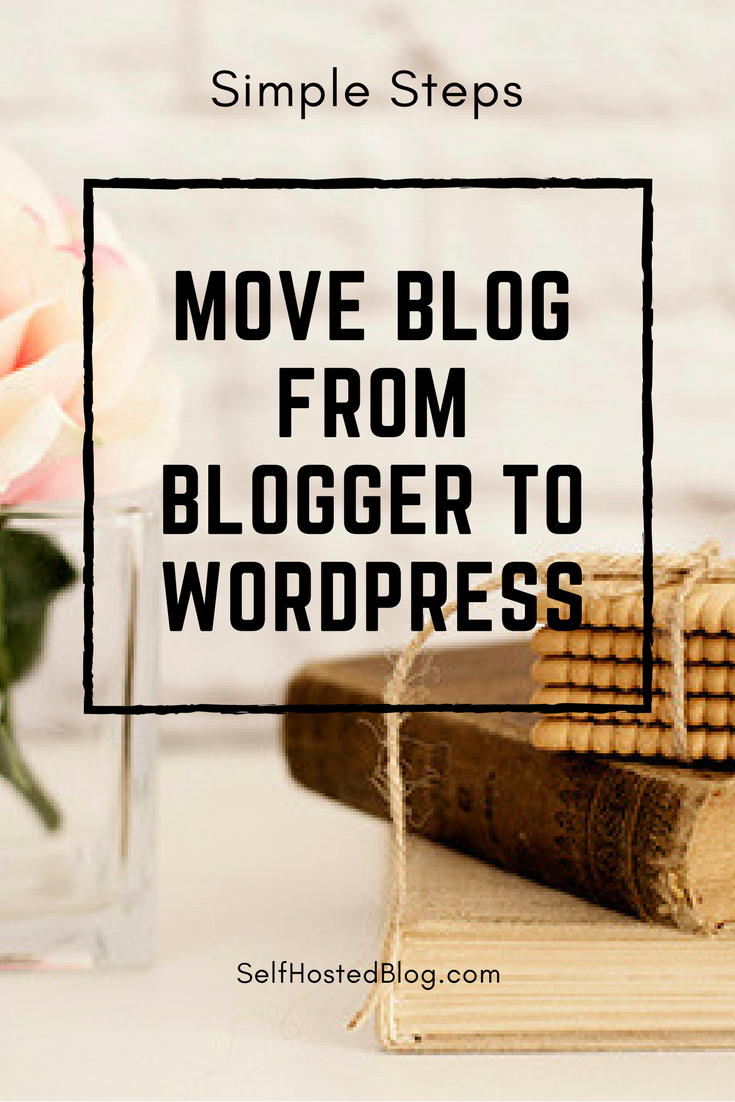 Learn how to Migrate a Blog from Blogger to WordPress. Steps to setup self hosted WordPress, export Blogger content and import to WordPress.