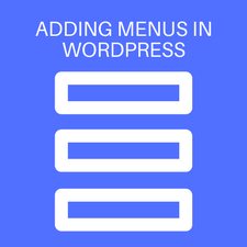 How to add navigation menus to WordPress