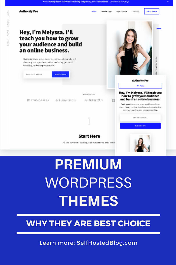 Free or premium WordPress theme? Here's 5 reasons why Premium WP themes are worth the investment. Learn more.