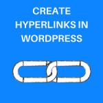 How to Add a Hyperlink in WordPress